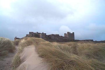 Castle Joyous Guard, Bamburgh Castle